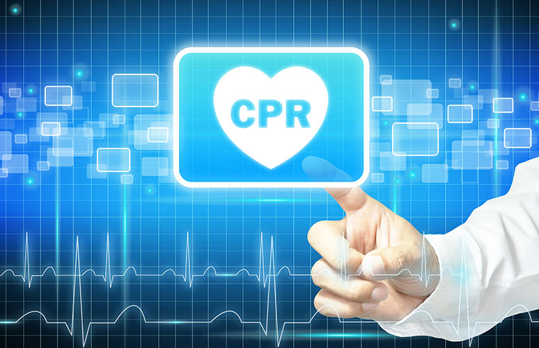 Basic cpr training, cpd certified online course, click to register and start