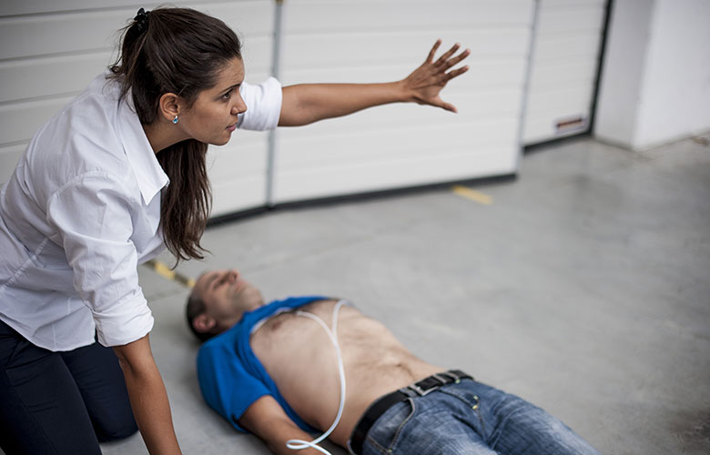CPD certified CPR & AED combined training course, register by clicking here