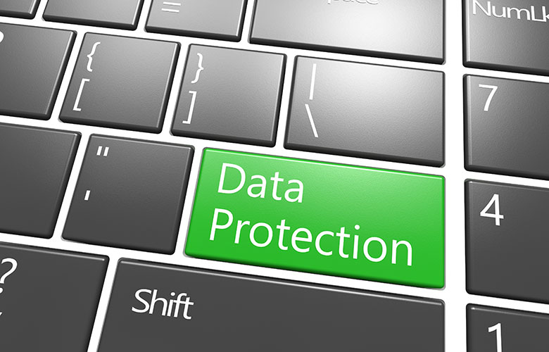 Data Protection, click here to register and start